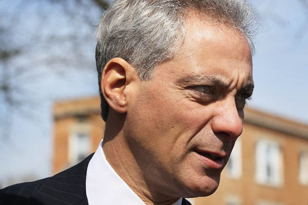 Chicago Mayor Rahm Emmanuel. Scott Olson-Getty Images North America—AFP