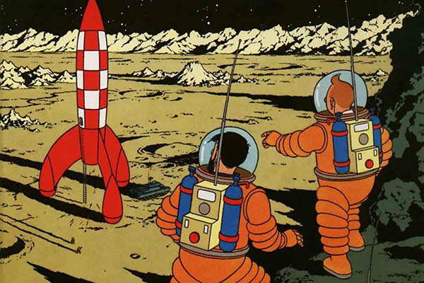 tintin-explorers-moon
