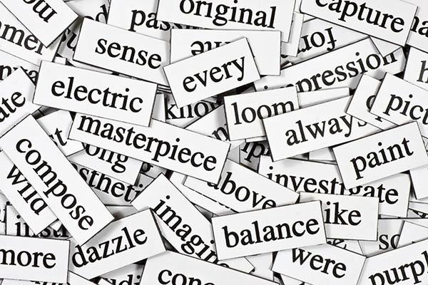 words-stock