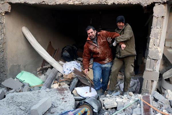 File Photo. Thaer Mohammed—AFP