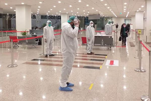 Screening measures at airports in Pakistan