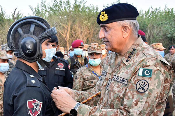 COAS Gen. Bajwa visits Gujranwala